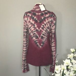 Free People Tops - We The FREE PEOPLE Psychedelic Turtleneck Top NWT